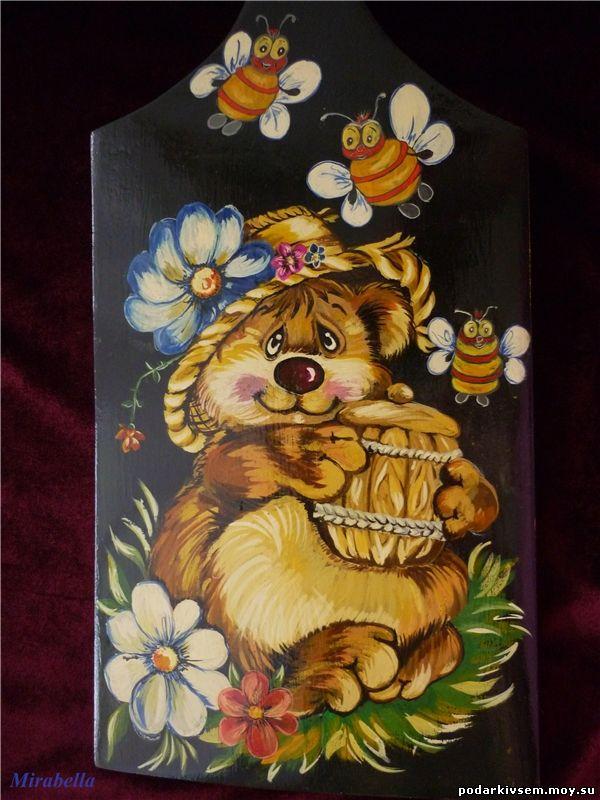 Доска Медведь1